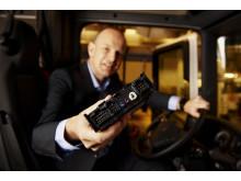 Scania Communicator styrer fartskriverdataoverførsel