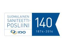 IDO 140 vuotta, logo