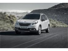 Sverigepremiär för nya crossovern Peugeot 2008