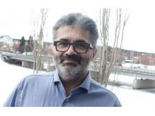 Arash Källmark,  universitetsadjunkt och utbildningsledare för programmet datorgrafik vid Luleå tekniska universitet