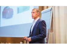 Andreas Myhre, elhandelschef på LOS Energy.