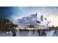 Arkitektförslag Forum Medicum, Lunds universitet