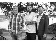 Johan Hjort, Tommy Eriksson och Marcus Åkerlind