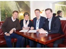 Næringsforeningen i Kristiansandsregionen inngår en treårig avtale med LOS Energy.
