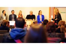 Paneldiskussion YH-mässan 2014
