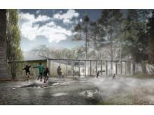 Дом климата в Ботаническом саду Осло