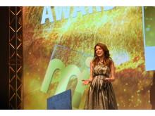 immobilienmanager Award 2017: Moderatorin Annett Möller führte mit viel Charme durch den Gala-Abend.