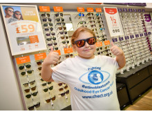 Nine-year-old eye cancer survivor opens new Coventry optician