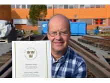 Jan Lundberg. professor i drift- och underhållsteknik vid Luleå tekniska universitet