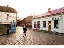I Järnhandlarens hus på Skansen inryms både bostad och butik.
