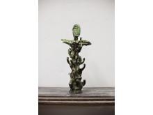 Keramisk skulptur av Hertha Hillfon