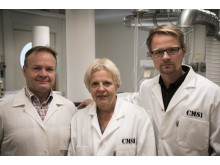 Alastair Ross, Ann-Sofie Sandberg och Otto Savolainen, Chalmers