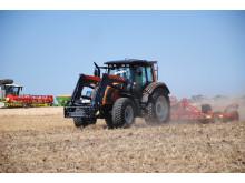 Dual fuel traktor