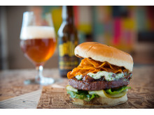 Juicy Vegan Burger-4