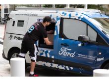 Rozvážkový automobil Ford bez řidiče 5