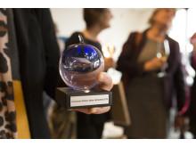 Glasäpplet, utmärkelse för Skånes bästa vårdcentral.
