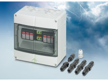 Fotovoltaiske sæt tilbyder overspændingsbeskyttelse til flerstrengssystemer