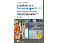 Abnahme von Bauleistungen - Band II, 5. Auflage (2D/tif)
