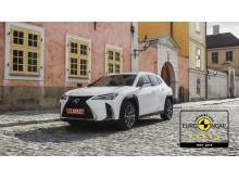Lexus UX EuroNCAP 5 stars 03 16x9