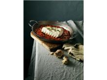 Skrei horno tomate y ajo