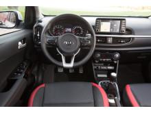 Nya Kia Picanto _interior GT Line