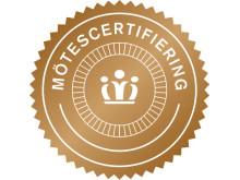 Logotyp för Svenska Mötens mötescertifiering.