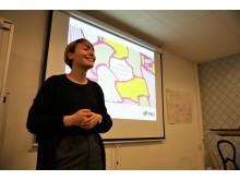 Fredrika Uggla presenterar bok om jämställdhet