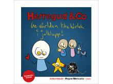 Omslagsbild: Herregud & Co som julkortsbok