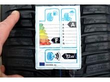 EU-mærkat dæk