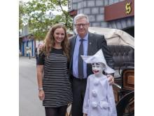 Bakkens Oscar 2018: Kurt Flemming med familien, datter Sine Andersen og barnebarnet Nico som Mini Pjerrot