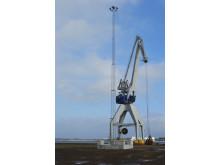 CMP – Copenhagen Malmö Port installerar LED mastbelysning