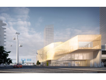 Sweco rådgivare när linbana planeras i Göteborg. Visualisering: Sweco