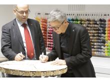 Nytt samarbete mellan Högskolan i Halmstad och halmstads kommun