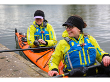 Hi-res image - Ocean Signal - Backed by Ocean Signal and WesCom Signal and Rescue, Kate Culverwell and Anna Blackwell are kayaking across Europe from London to the Black Sea to raise money for Pancreatic Cancer Action