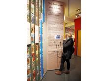 Interaktive Elemente der Ausstellung