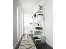 Elfa Freestanding med Classic för hemmakontoret