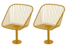 Korgfåtöljer, design Thomas Bernstrand