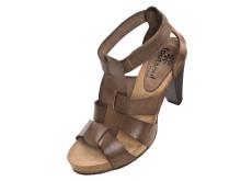 Bekväm sandalett i skinn.