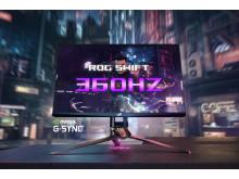 ROG Swift 360Hz G-SYNC Monitor