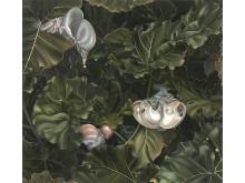 Anna Camner, Untitled, 2012, Oil on plexiglass 44 x 48 cm, Courtesy the artist and Christian Larsen