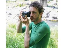 Sony DSC-HX90 kompakt digitalkamera med 30x optiskt zoomobjektiv