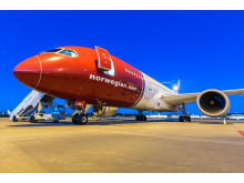 Norwegian Dreamliner Night time