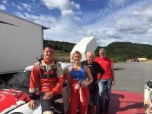 Ada Marie Hvaal gör RallyX Nordic-debut på hemmaplan i Grenland