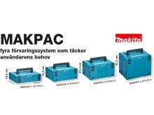 Makita MAKPAC förvaringslådor