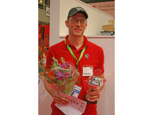 Scaniaföraren Andreas Karlsson vann Truck-SM