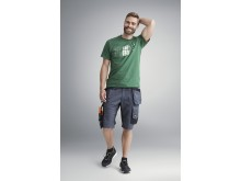 6151  AllroundWork, Shorts i stretch med løs passform og hylsterlommer