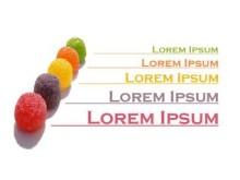 Lorem ipsum candy