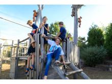 Kletterspaß im PLAYMOBIL-FunPark