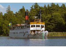 Pressbild - Strömma Kanalbolaget - M/S Gustafsberg VII till sjöss