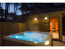 Exclusive Lodge Hot Tub